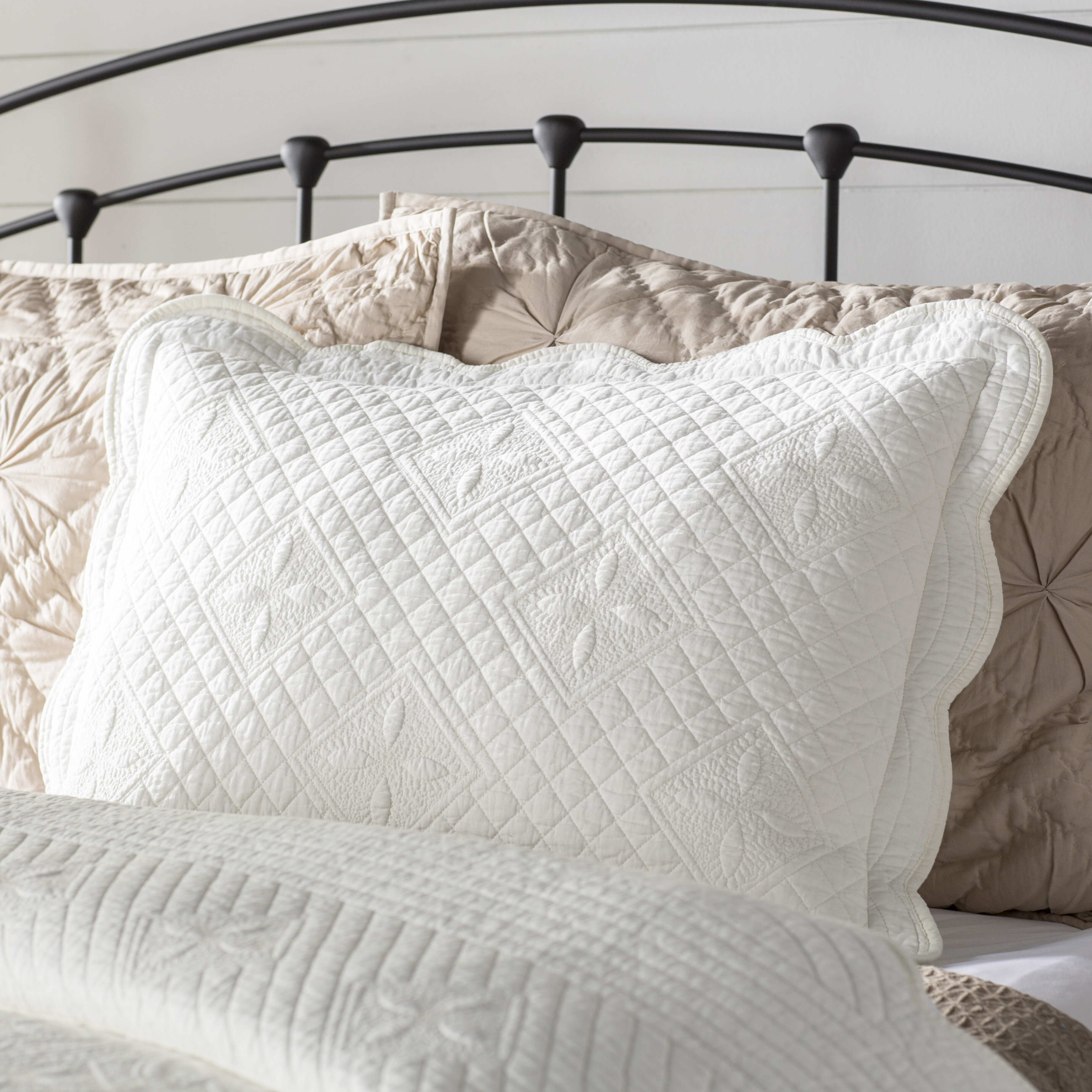 Lafollette Luxury Quilted Pillow Sham