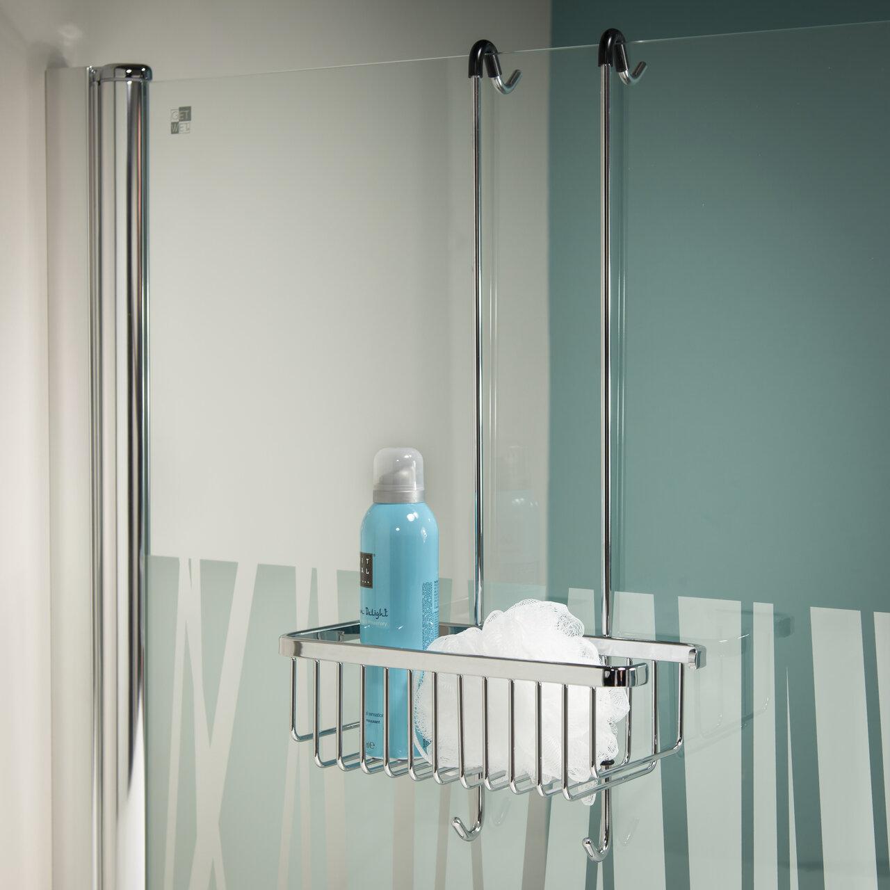 Rebrilliant Carrington Exquisite Hanging Shower Basket   Wayfair