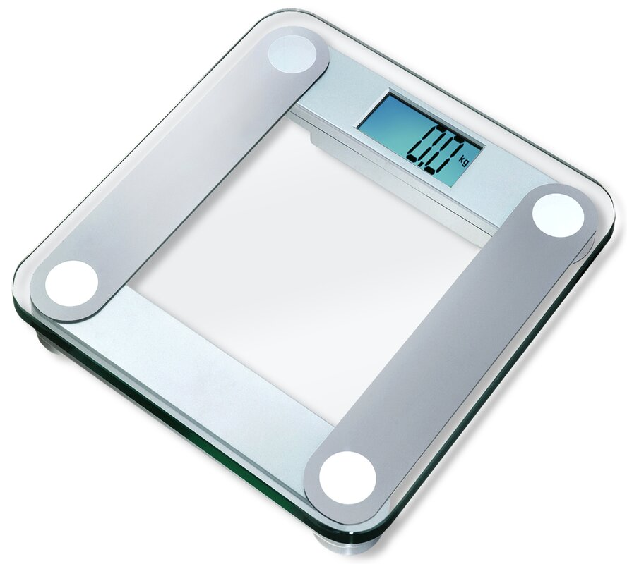 Bathroom Scale eatsmart digital bathroom scale with extra large backlight in