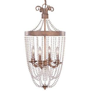 Hammered copper pendant light wayfair grace 4 light outdoor pendant aloadofball Images