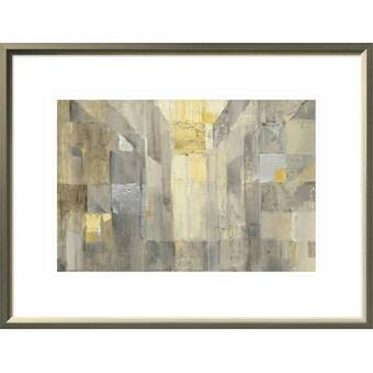 Global GalleryAlbena Hristova The Gold Square Crop Giclee Stretched Canvas Artwork 30 x 20
