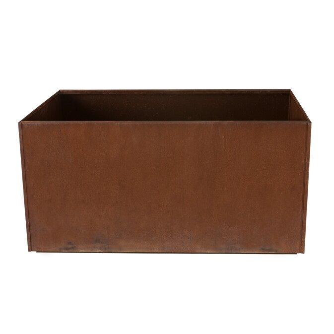 Corten Steel Planter Box - Nice Planter Corten Steel Planter Box & Reviews Wayfair