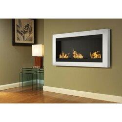Ignis Magnum Wall Mount Ethanol Fireplace | Wayfair
