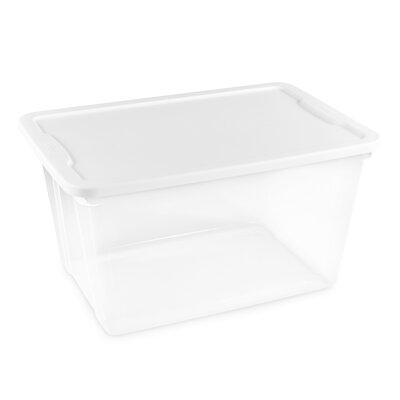 56 Quart Clear Plastic Storage Totes  sc 1 st  Wayfair & Homz 56 Quart Clear Plastic Storage Totes | Wayfair