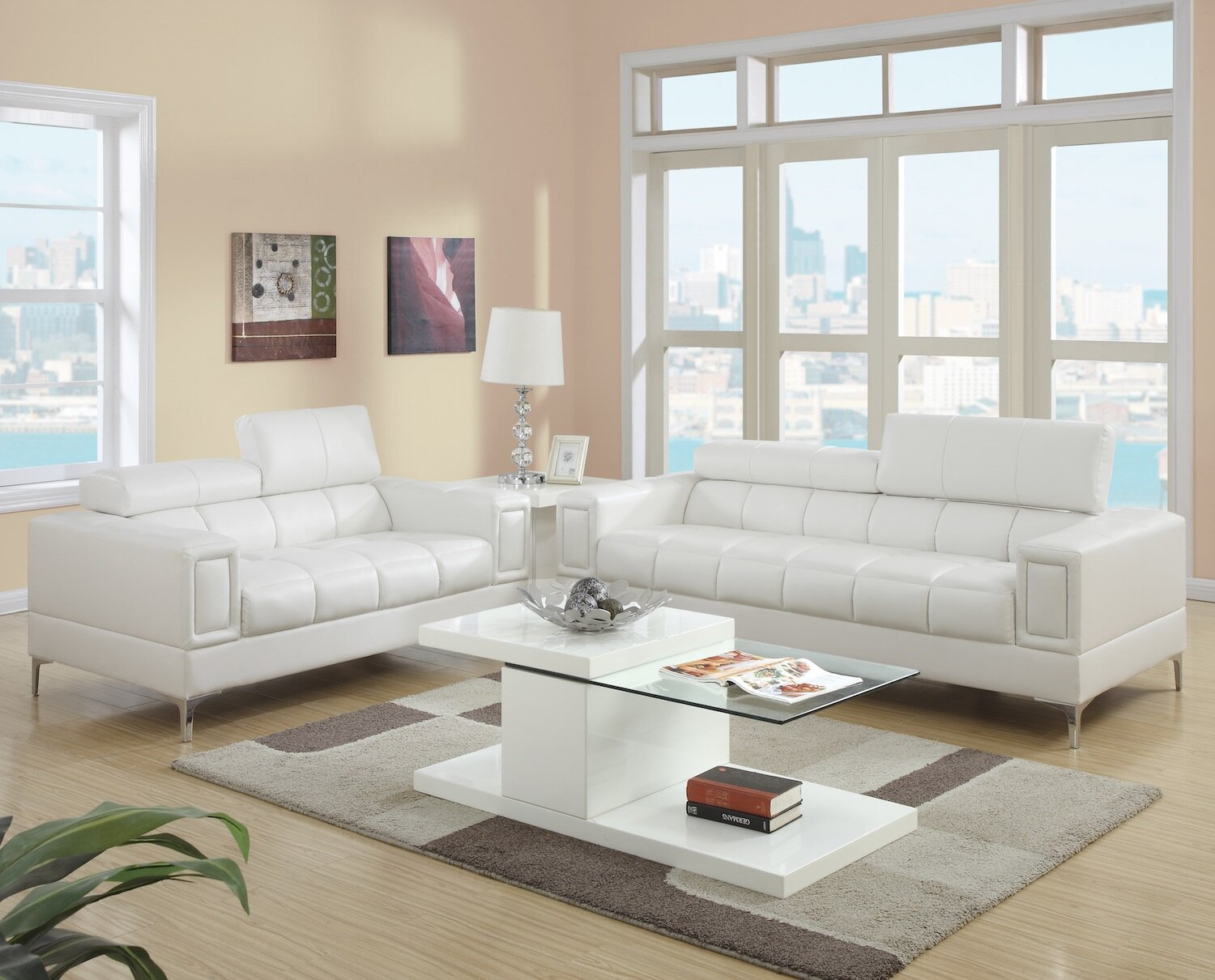 Infini Furnishings 2 Piece Living Room Set & Reviews | Wayfair