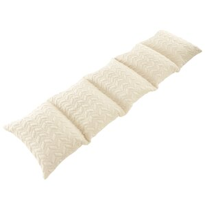 Abrar Quilted Textured Plush Pillow Case