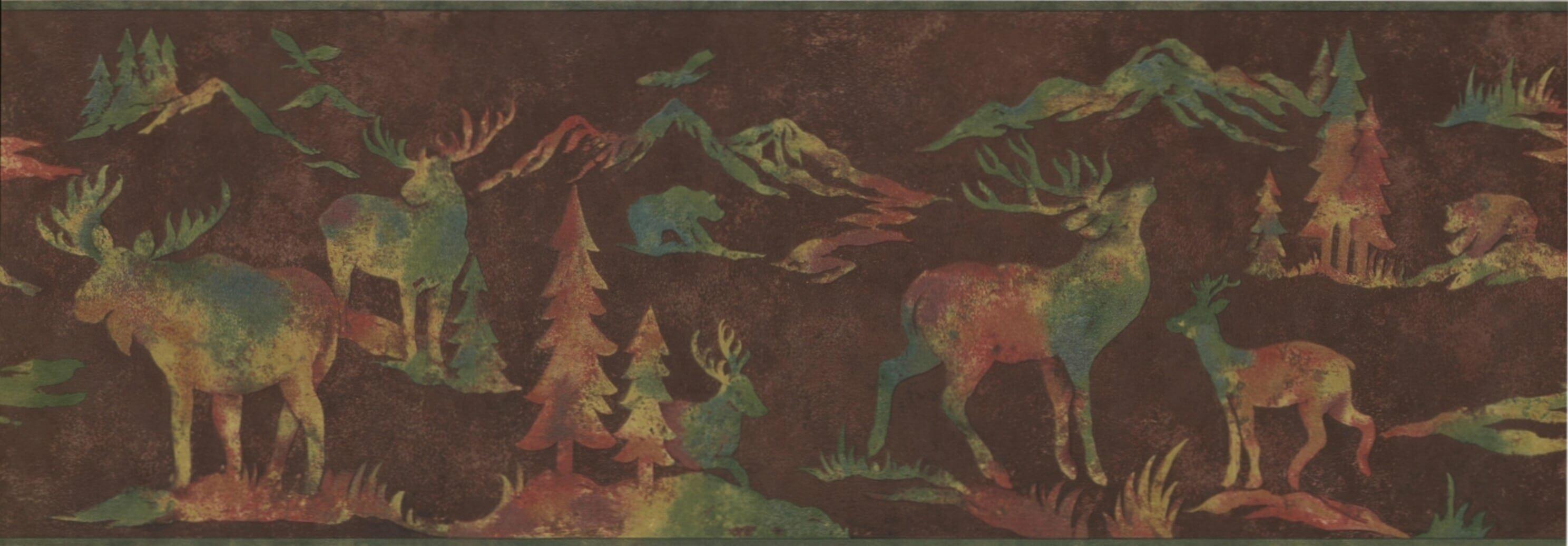 Moose Wallpaper Wayfair Ca
