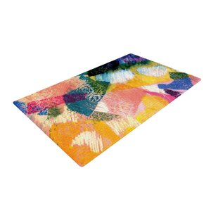 Louise Machado Texture Yellow/Pink Area Rug