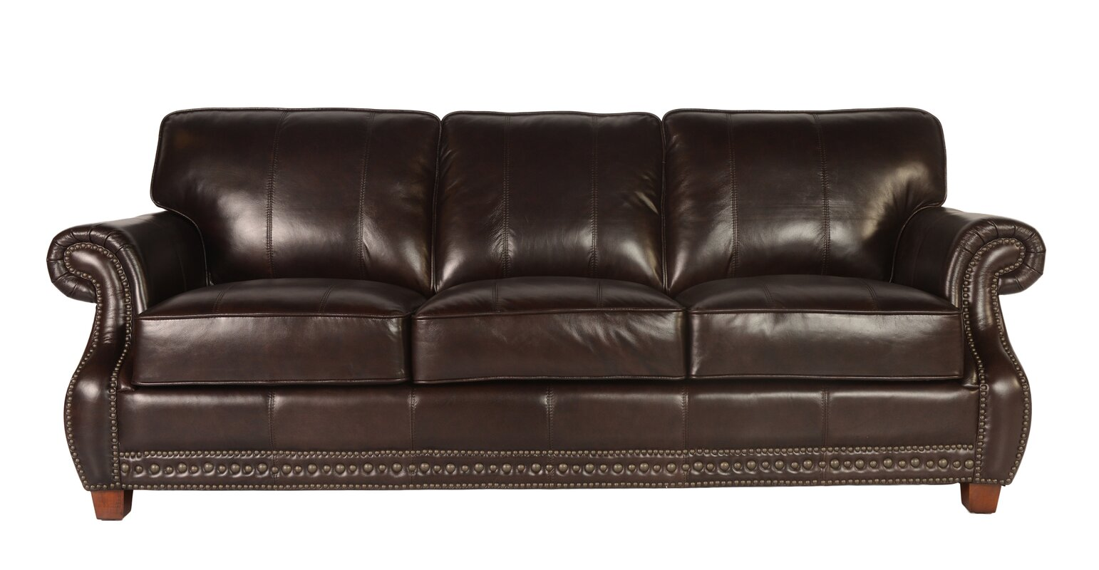 Anna Leather Sofa