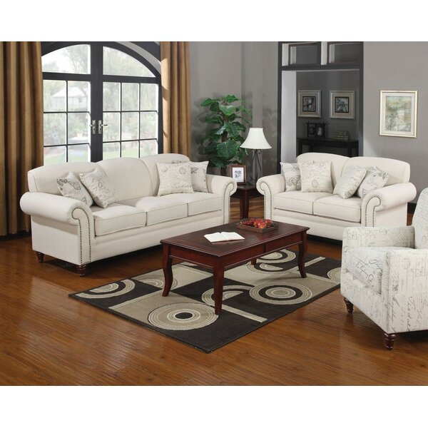 Infini Furnishings Nova 2 Piece Living Room Set U0026 Reviews | Wayfair