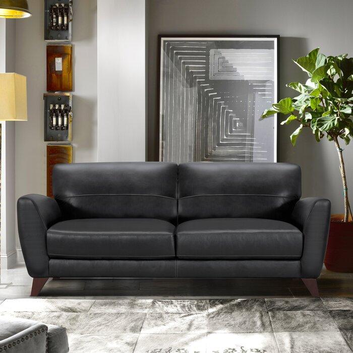 Caloundra Genuine Leather Sofa