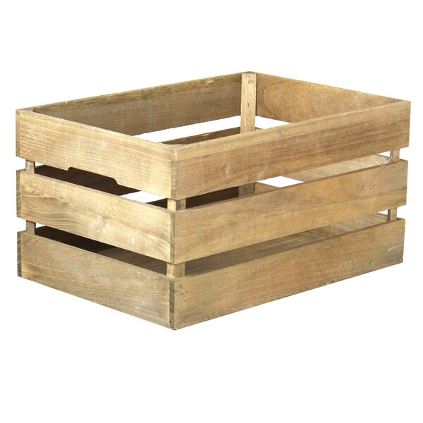 Quickway Imports Stackable Antique Style Wooden Crate Decorative Shelving Reviews Wayfair
