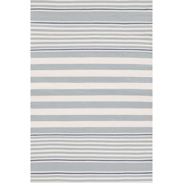 Dash and Albert Rugs Indoor/Outdoor Blue/White Outdoor Area Rug ...