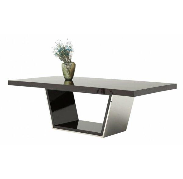 Orren Ellis Clower Metal Top Dining Table Wayfair