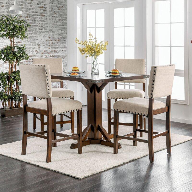felix counter height 5 piece dining set