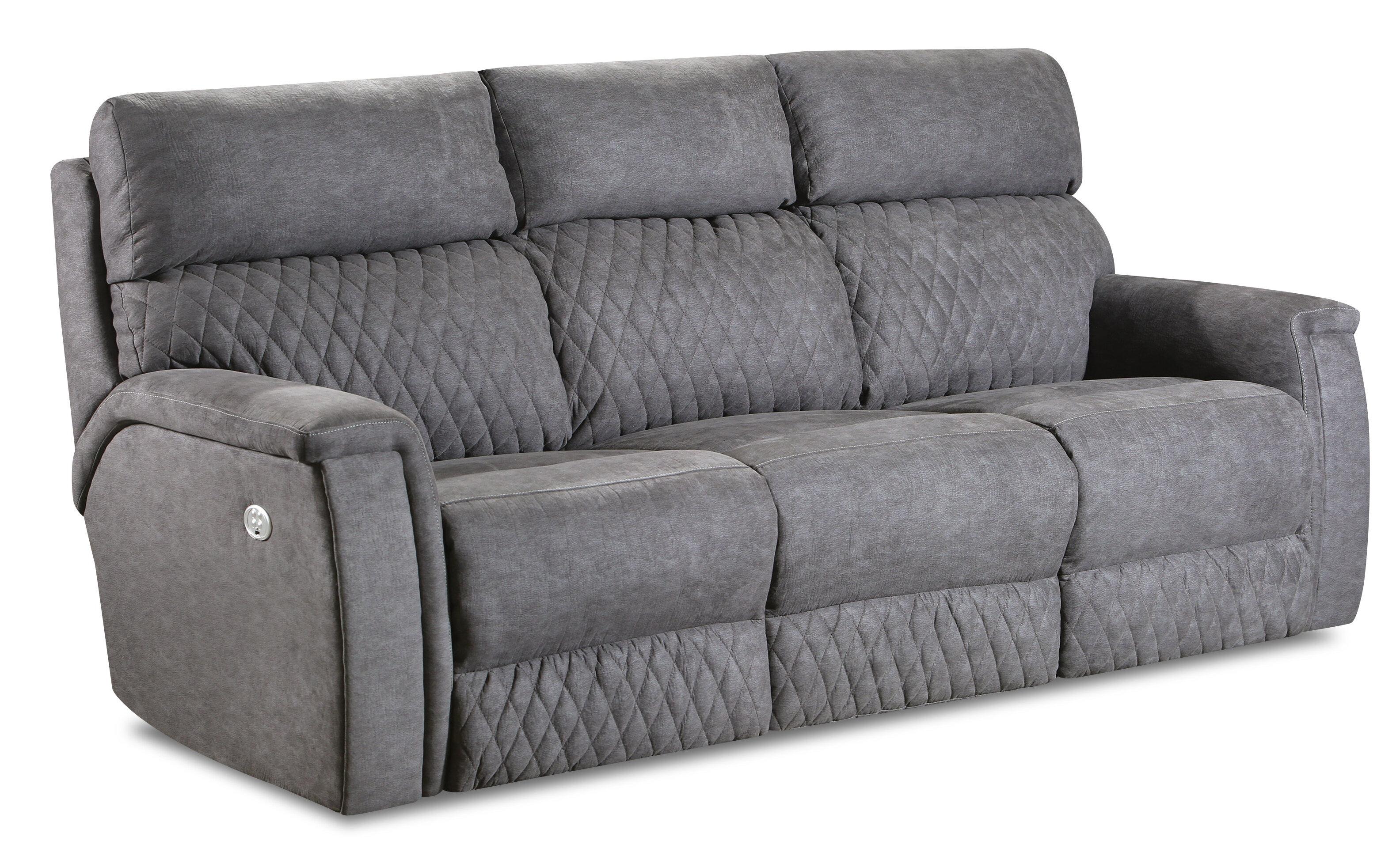 High Rise Power Headrests Reclining Sofa