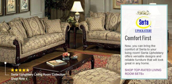Serta Upholstery Wayfairrhwayfair: Serta Living Room Set At Home Improvement Advice