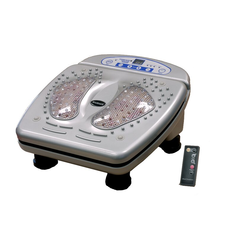 Vibration In Foot >> Icomfort Infrared And Vibration Foot Massager Reviews Wayfair