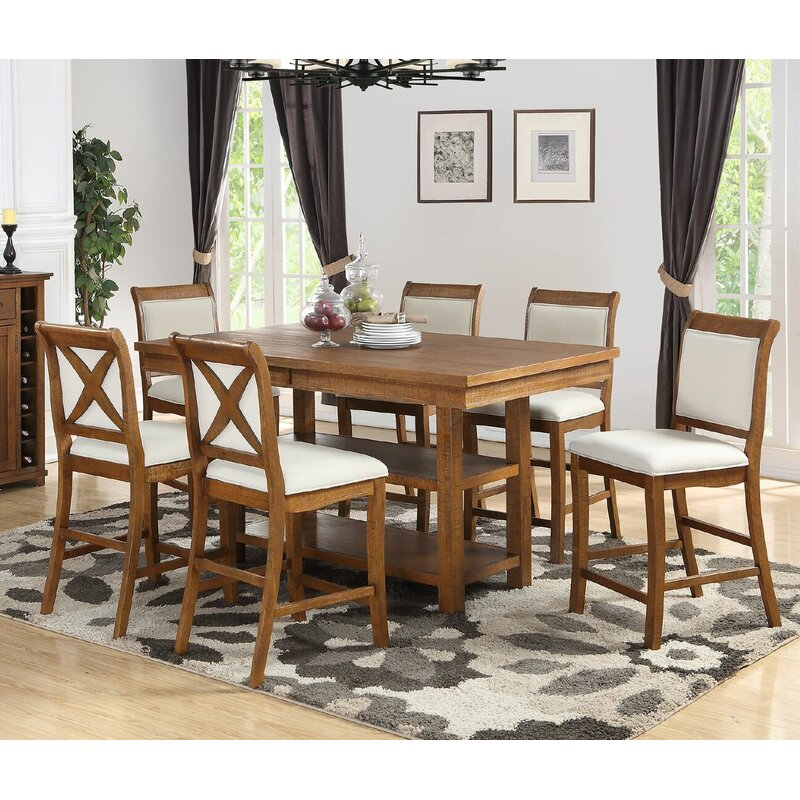 Marine Park 7 Piece Counter Height Dining Set