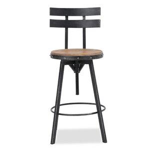 Sylvania Adjustable Height Swivel Bar Sto..