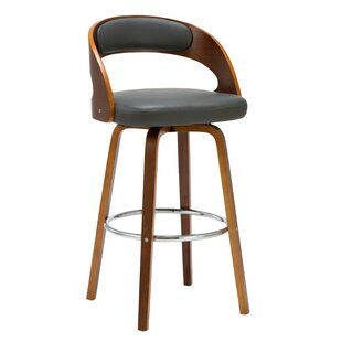 Charlotte 27.76 Swivel Bar Stool