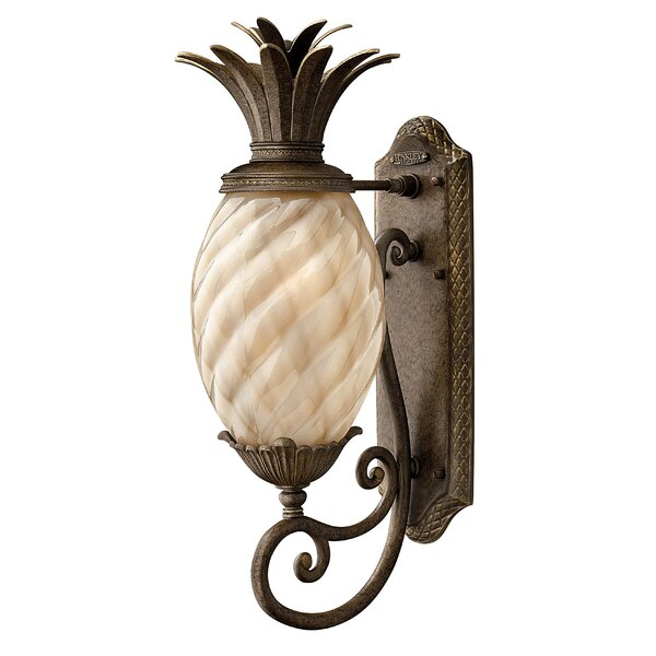 Outdoor Pineapple Light Beachcrest home terry traditional 1 light outdoor pineapple shaped beachcrest home terry traditional 1 light outdoor pineapple shaped wall lantern reviews wayfair workwithnaturefo
