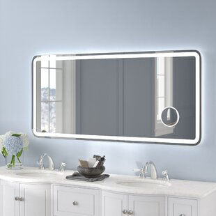 Rectangle Electric Wall Mirror