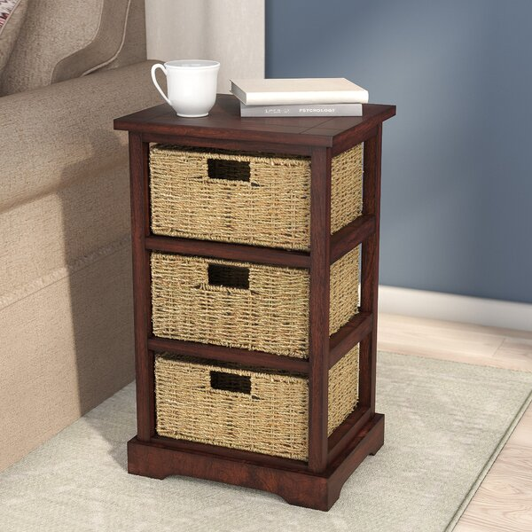 Alcott Hill Eagan End Table With Storage Amp Reviews Wayfair