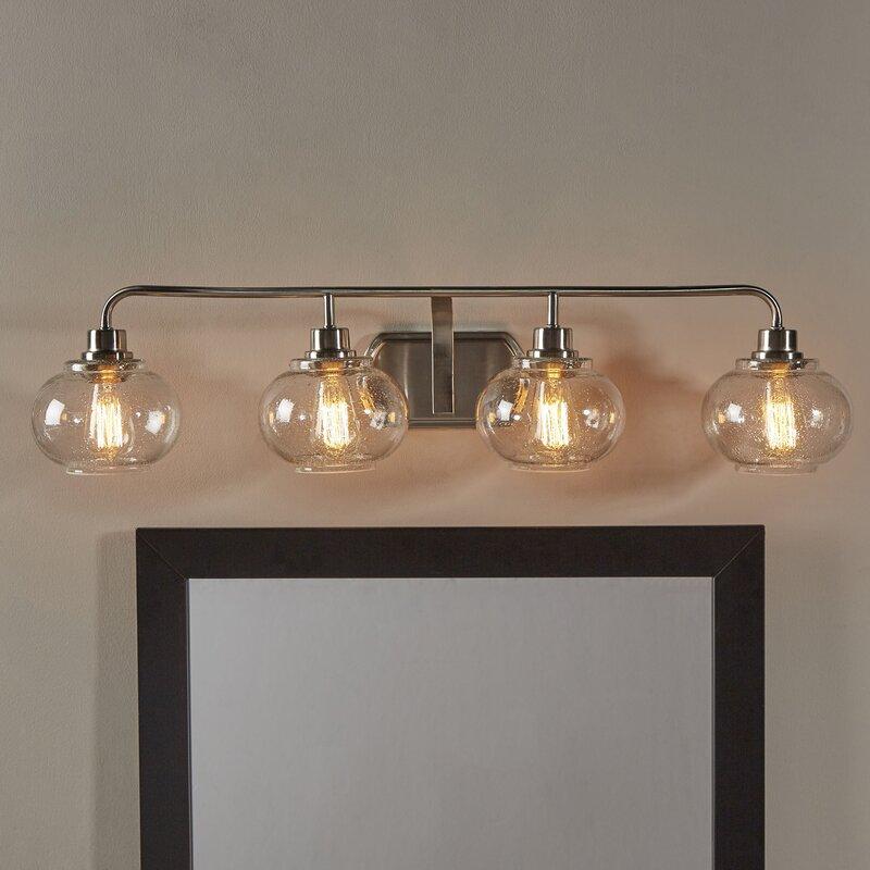 Beachcrest Home Gotha 3 Light Vanity Light Reviews: Beachcrest Home Braxton 4-Light Vanity Light & Reviews