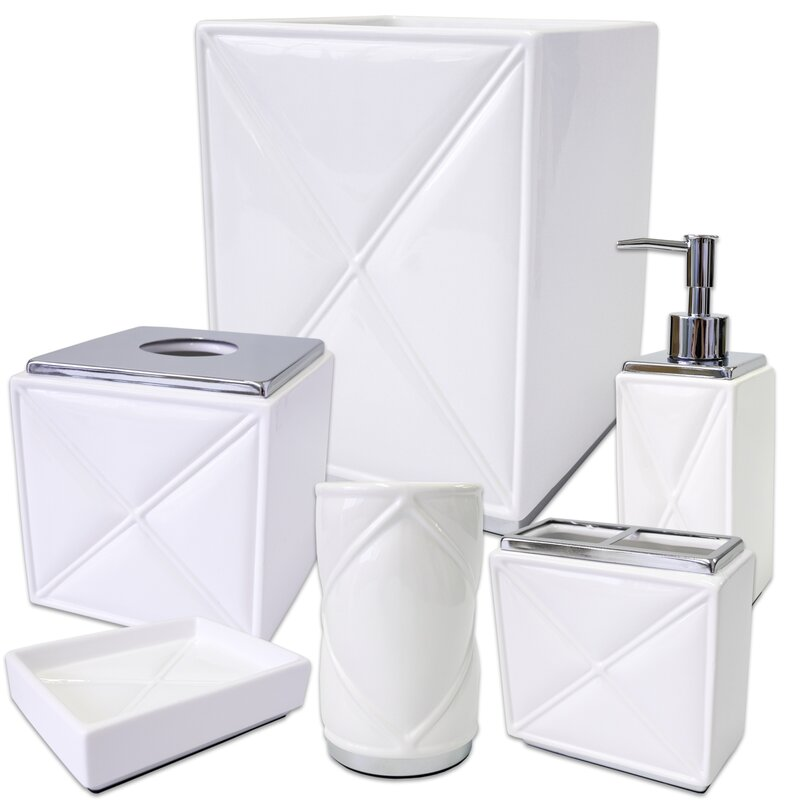 Exceptional Cortland 6 Piece Bathroom Accessory Set Amazing Pictures