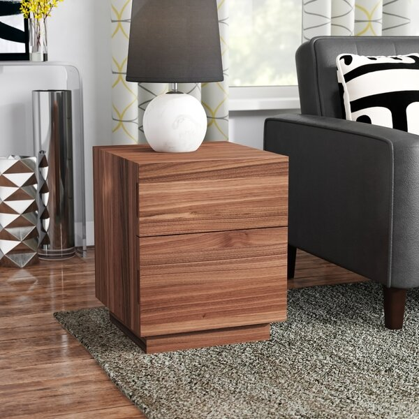 Eq3 Boom End Table With Storage Amp Reviews Wayfair