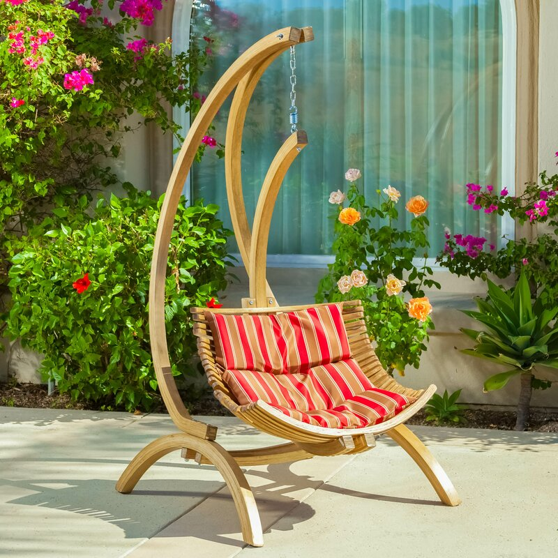 Catalina Polyester Chair Hammock with Stand. Home Loft Concepts Catalina Polyester Chair Hammock with Stand
