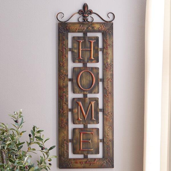 Three posts nixon metal home wall décor reviews wayfair