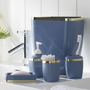 Navy Blue Bathroom Accessories. Save