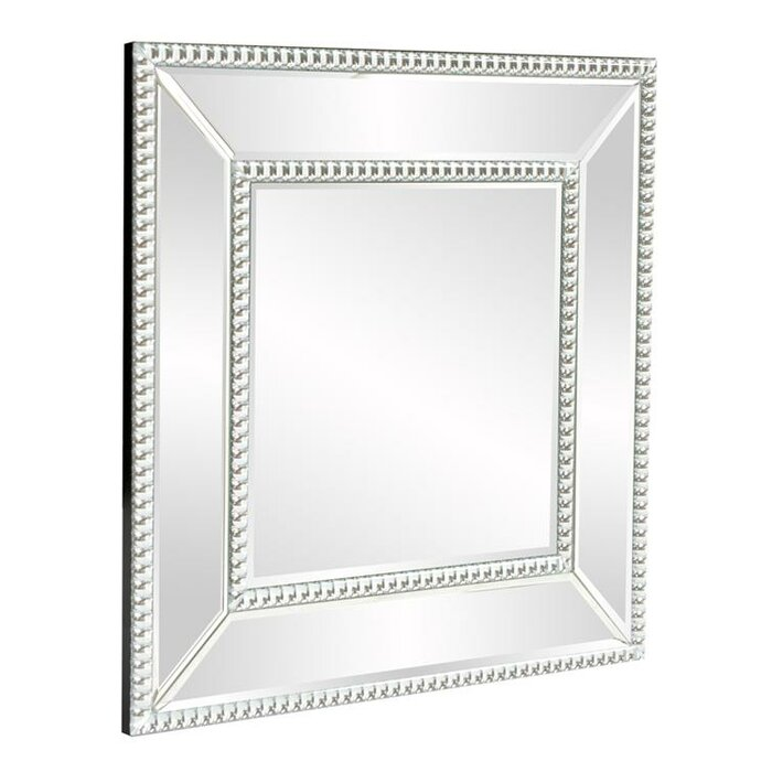 House of Hampton Mirrored Frame Wall Mirror | Wayfair.ca