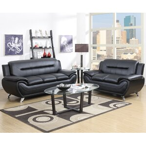 Faux Leather Living Room Sets You Ll Love Wayfair