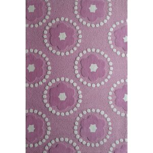 Zoomania Pedals Purple Children's Area Rug
