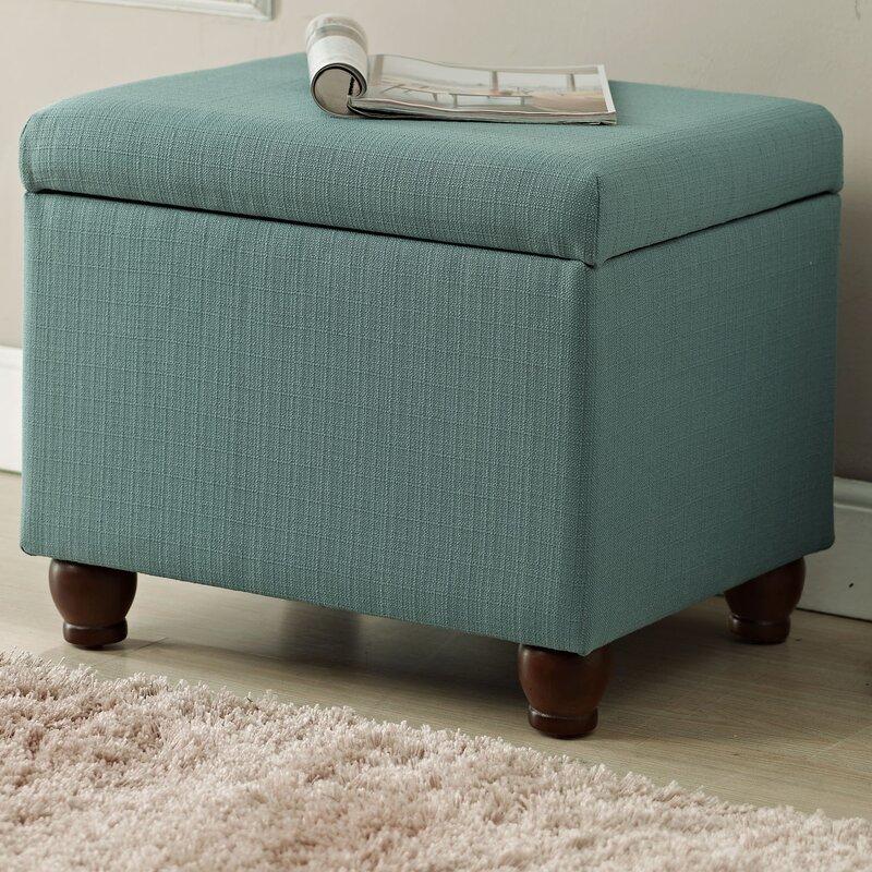 Birmingham Upholstered Storage Cube Ottoman