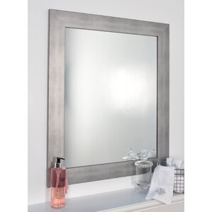 Rectangle Muted Cool Wall Mirror