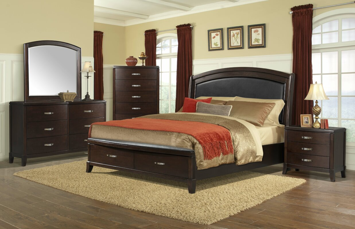 Darby Home Co Mcduffie Storage Panel Configurable Bedroom Set ...