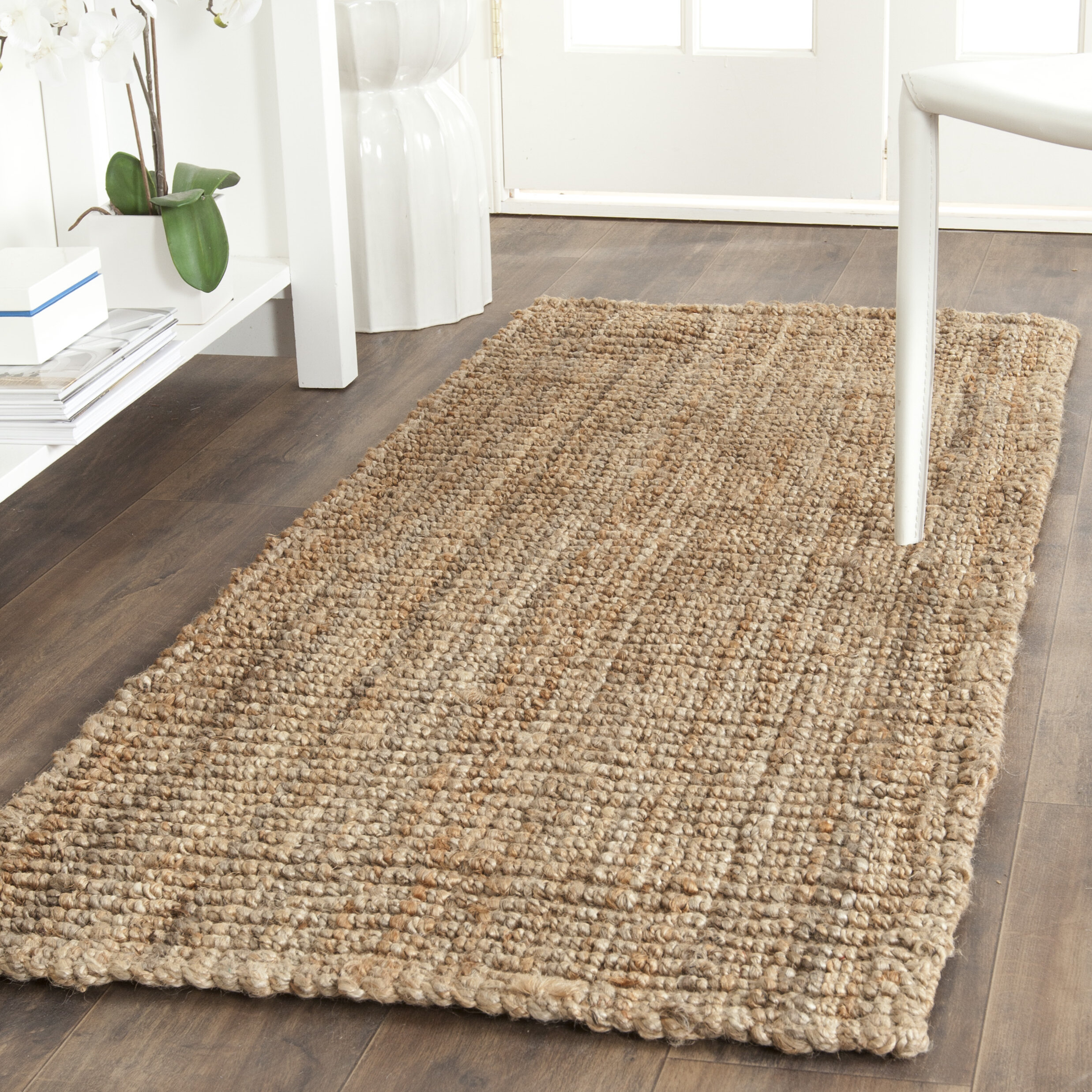 Gaines power loomed natural area rug reviews birch lane