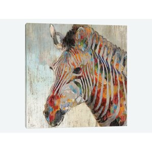 Zebra Wall Art traditional zebra wall art | wayfair