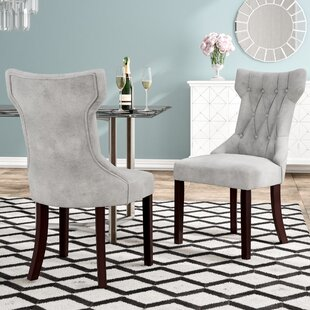 Caravilla Upholstered Dining Chair (Set of 2)