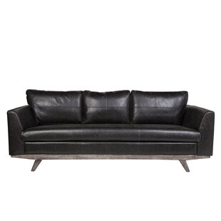Claverton Down Leather Sofa