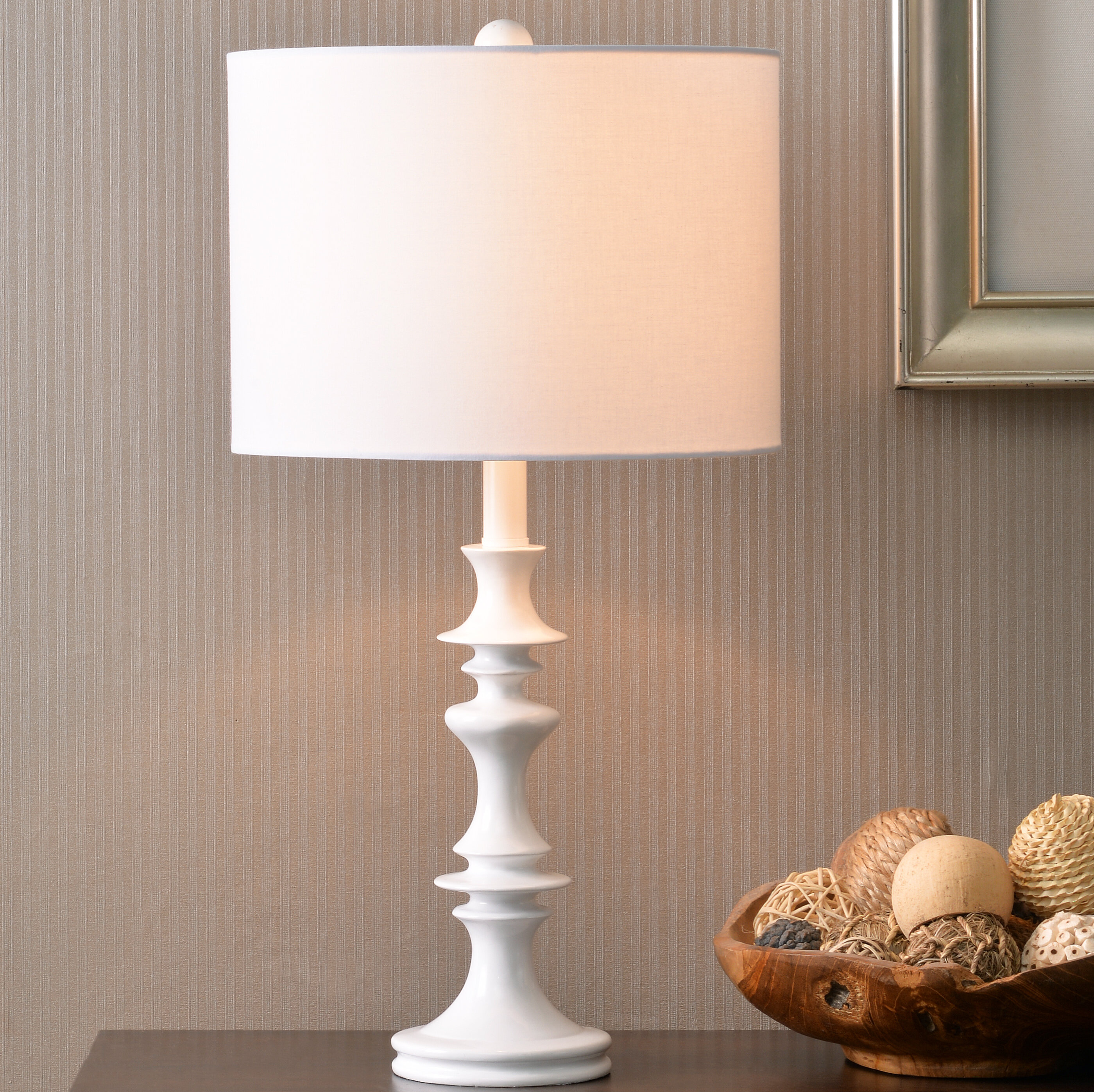 August grove eilers accent 21 table lamp reviews wayfair