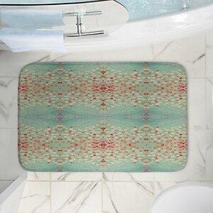 Abstract Memory Foam Bath Rug