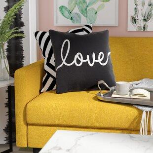 Text Throw Pillows You\'ll Love   Wayfair