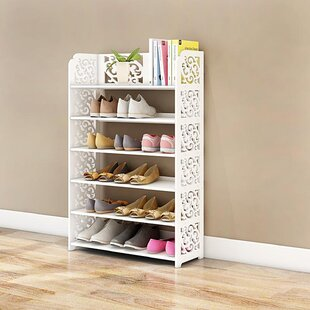 20198a659d7e 6 Tier Shoe Rack | Wayfair
