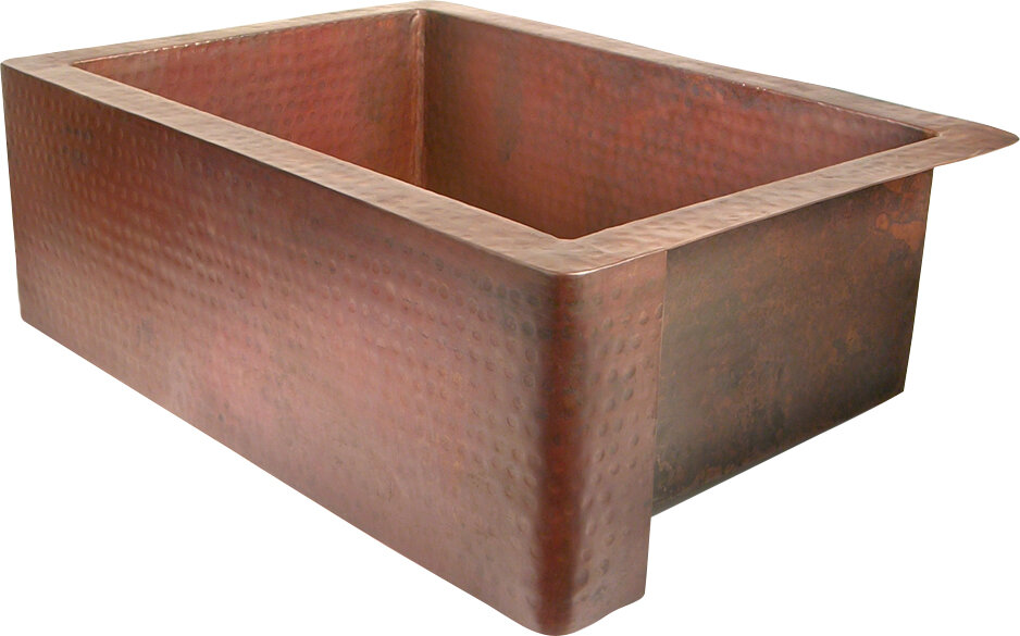 Terrific 14 Gauge Copper Sink Wayfair Interior Design Ideas Inesswwsoteloinfo