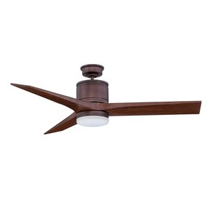 52 Woodstock 3-Blade Ceiling Fan with Wall Remote